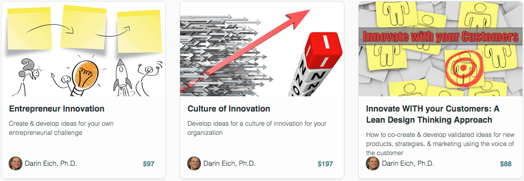 innovation courses